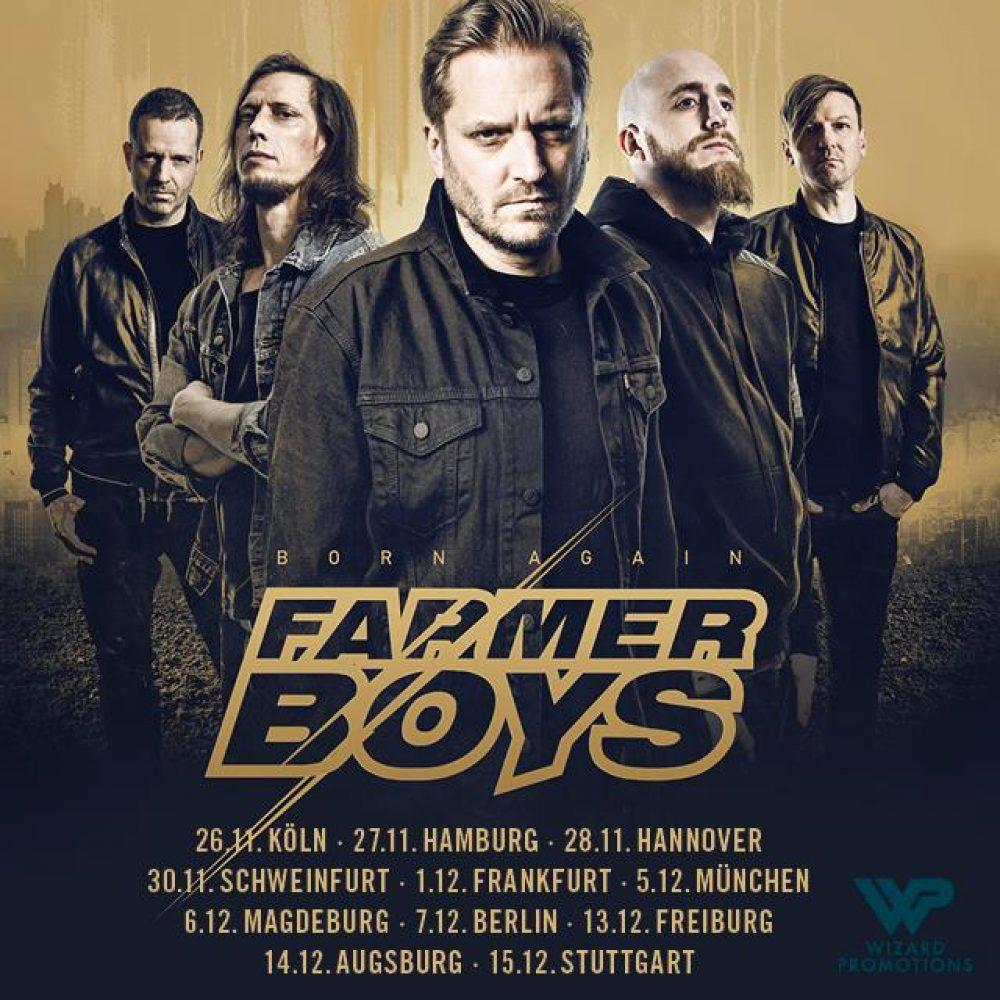 FARMER BOYS, 01.12.2018, FFM / Das Bett