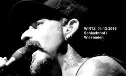LIVE- WIRTZ / DEINE COUSINE, 04-12-2018, Schlachthof / Wiesbaden