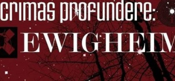 News/Vorbericht: LACRIMAS PROFUNDERE & EWIGHEIM auf Tour ab 10.01.2019 !!!