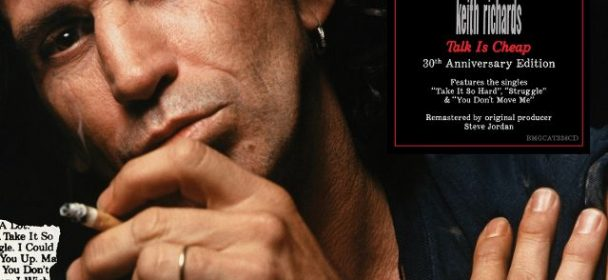 """News: Keith Richards – neues Video, Austellung in Berlin – """"Talk Is Cheap – 30th Anniversary Edition"""""""