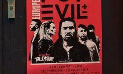 Live: POP EVIL / Support: THE FALLEN STATE, 19-02-2019, FFM / Zoom Club