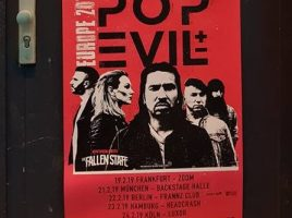 POP EVIL & THE FALLEN STATE, 19-02-2019, FFM / Zoom Club