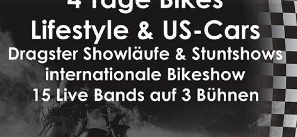 News: BIKE AND MUSIC WEEKEND – 1.-4.8. Geiselwind