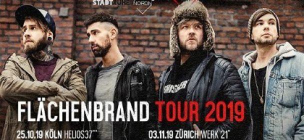 News: ENGST – kündigen ihre »Flächenbrand Tour 2019″ für Herbst an!