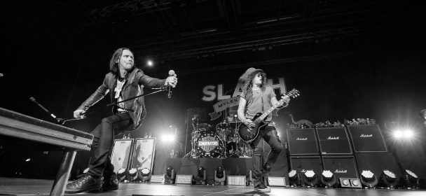 "Slash Featuring Myles Kennedy And The Conspirators ""Living The Dream Tour 2019"", 03.03.2019, Sporthalle Hamburg"