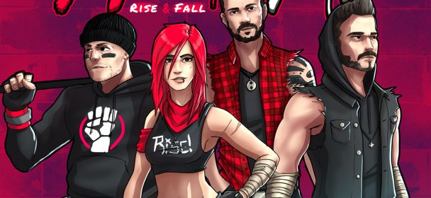 APRIL ART (DE) – Rise & Fall