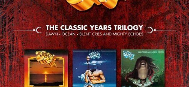 """News: Eloy erscheint die neue 3LPs+3CDs-Box """"The Classic Years Trilogy"""" am 26.04."""