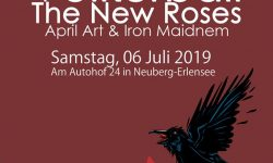 Erlensee Rockt Open Air Festival geht mit Völkerball, The New Roses, April Art & Iron Maidnem in die 2. Runde