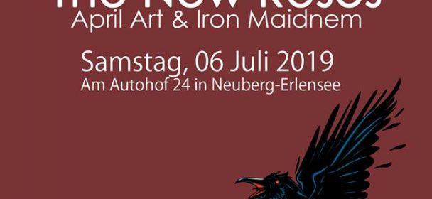 Erlensee Rockt Open Air Festival geht mit Völkerball, The New Roses, April Art & Iron Maidnem in die 2. Runde