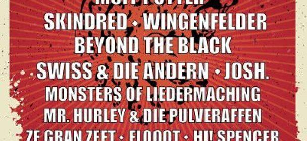 "News: ""Hütte Rockt Festival 13"" – Line-Up komplett"