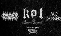 News/Tour: Die Legenden des polnischen Metal auf einer Bühne!!! VADER, KAT (Roman K.), Acid Drinkers & Quo Vadis!!!