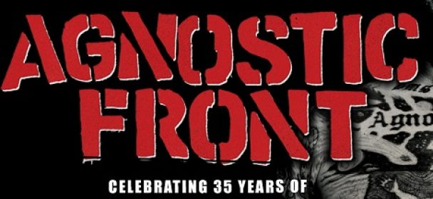"News: AGNOSTIC FRONT celebrating 35 years of ""Victim In Pain"" – Tour 2019"