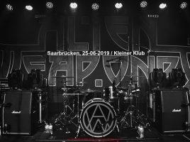 ALIEN WEAPONRY 25-06-2019 -Osnabrück, Kleiner Klub