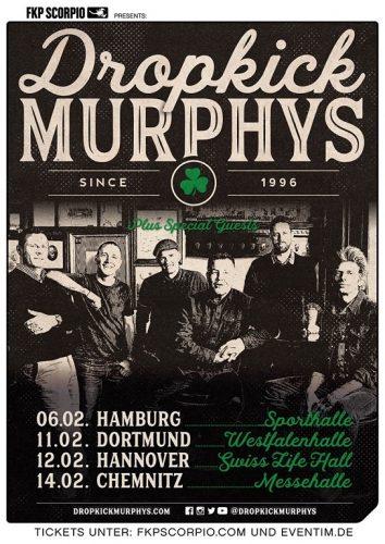 Dropkick Murphys Tour 2020.News Dropkick Murphys Nehmen Frank Turner The Sleeping