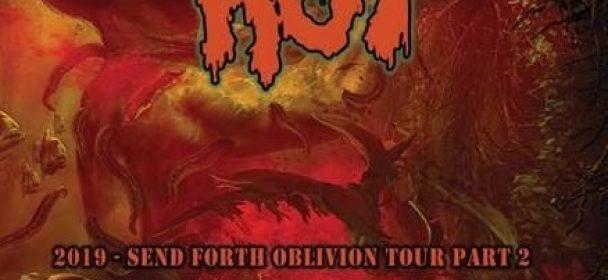 News: JUNGLE ROT kündigen 'Send Forth Oblivion Tour Part 2' an