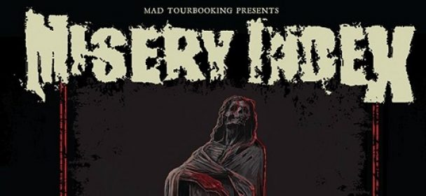"News: MISERY INDEX – ""Rituals of Power – European Tour Phase II"" ab Ende Juni!!!"