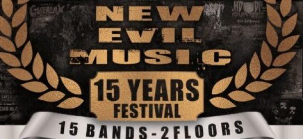 News: 15 Years NEW EVIL MUSIC Festival in Mannheim, 12.10. – Running Order steht!