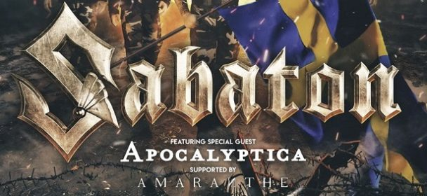 News: Apocalyptica – The Great Tour with Sabaton in 2020