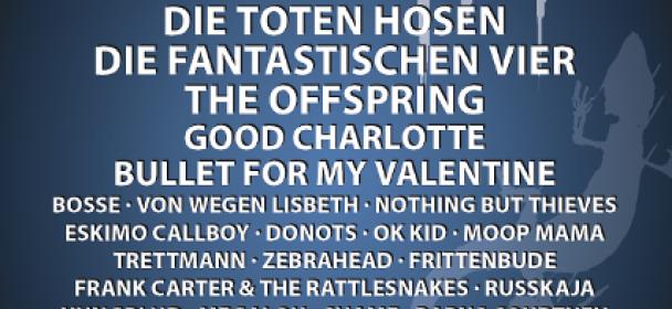 News: Taubertal-Festival 2019 – Die Toten Hosen stehen als letzter Headliner fest