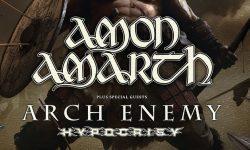News: Hypocrisy & Arch Enemy als Support für AMON AMARTH auch in Deutschland dabei!