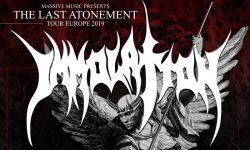News: The Last Atonement Tour Europe 2019 –  IMMOLATION, RAGNAROK !!!