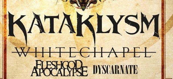 News: KATAKLYSM + FLESHGOD APOCALYPSE – Tour 2019!