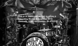 Live Review PHILIP H. ANSELMO & THE ILLEGALS, 01-07-2019, FFM / Nachtleben