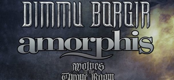 News: DIMMU BORGIR + AMORPHIS – kündigen Co-Headliner-Tour 2020 !!!