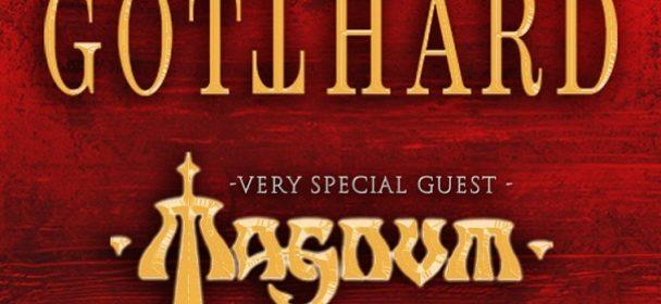 News: GOTTHARD – kündigen Deutschland-Tour mit Magnum an!