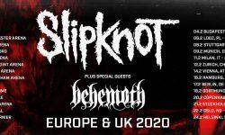 News: SLIPKNOT & BEHEMOTH auf Tour durch Europa im Januar und Februar 2020!!!