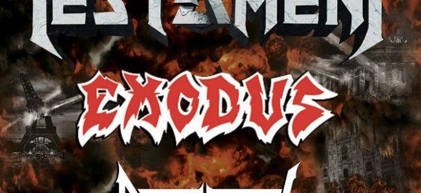"News: TESTAMENT, EXODUS & DEATH ANGEL – ""The Bay Strikes Back"" Europa Tour 2020!!!"