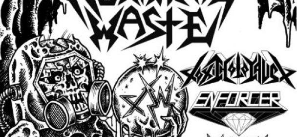 News: Toxic Holocaust kommen mit Municipal Waste auf Tour 2019!