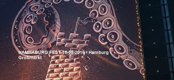 HAMMABURG FEST 16-08-2019, Hamburg / Großmarkt; Lonely Spring, Emil Bulls, Clawfinger, Life Of Agony, Sisters Of Mercy