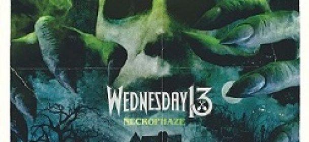 News: WEDNESDAY 13 – veröffentlichen Lyric Video!