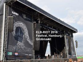 DRAGONFORCE 17-08-2019 Elb-Riot Festival, Hamburg / Großmarkt