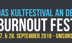 """News: 27. Burnout Festival in Nienburg/W. – """"umsonst & draußen"""" vom 27. – 28.09.19 -Running Order bekannt!"""