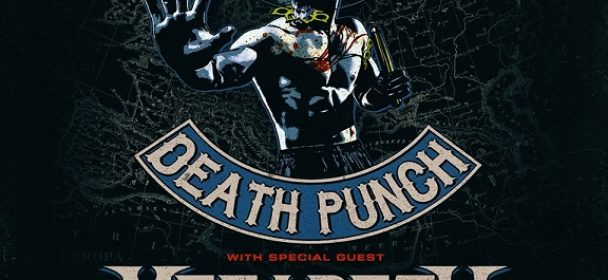 News: FIVE FINGER DEATH PUNCH announce early 2020 Arena headlining tour of Europe with special guest MEGADETH