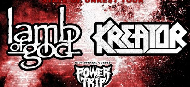 LAMB OF GOD mit KREATOR auf Co-Headliner-Tour in 2020!!!