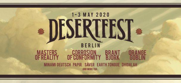 News: DESERTFEST BERLIN announces first 9 bands for 2020