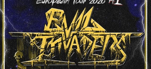 News: EVIL INVADERS Announce Headline Tour For March 2020!
