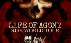 "LIFE OF AGONY, DOYLE ""S.O.S. World Tour"" – Hannover, Musikzentrum 06.11.2019"