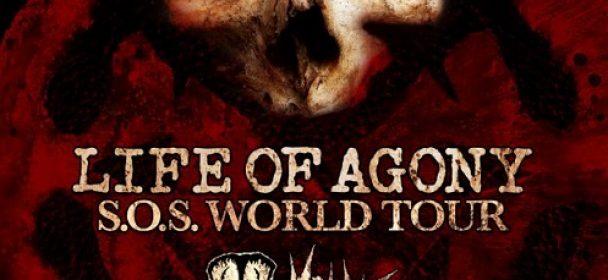 "LIFE OF AGONY, DOYLE ""S.O.S. World Tour"" – Hannover, Musikzentrum 06.11.2019"