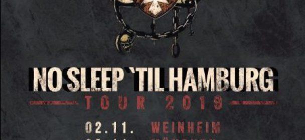 News: MOTÖRIZER – neues Shows in 2020 + Lemmyversary & Tour im Nov./Dez. 19