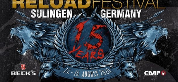 Die ersten Bands für das 15jährige Jubiläums des RELOAD FESTIVAL 2020 stehen fest !!!