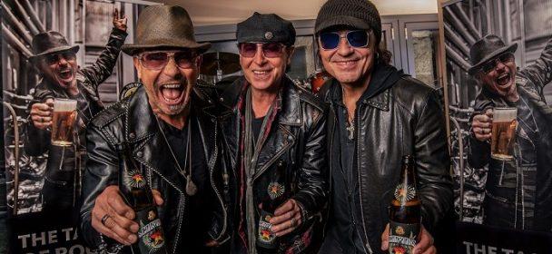 News:  Scorpions stellen eigenes Bier in Hamburg vor!