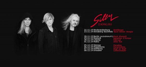 Vorbericht Live: SILLY, 29.11.2019, Rostock, Moya
