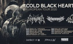 "News: ""COLD BLACK HEARTS EUROPEAN TOUR 2020"" with ENTHRONED, SCHAMMASCH, CARONTE"