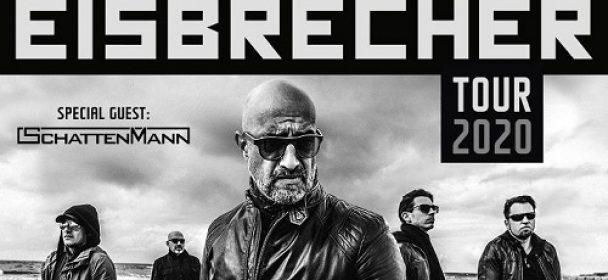 News: Eisbrecher – Videomessage online; auf Tour zum neuen Album im November 2020