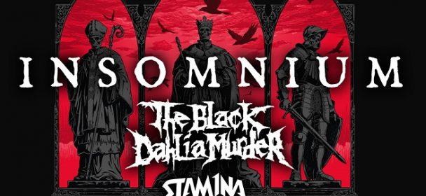 News: Insomnium, The Black Dahlia Murder, Stam1na – Tour 2019!