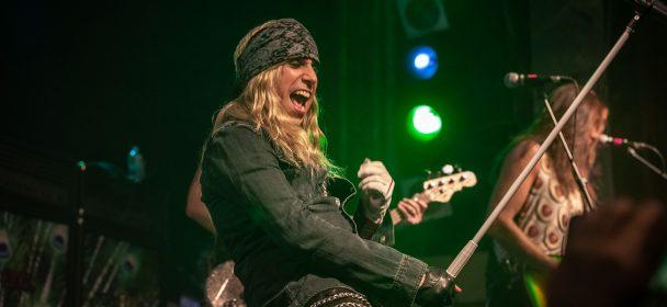 John Diva & The Rockets Of Love, Support Rosy Vista, 29. November, Bremen, Tivoli